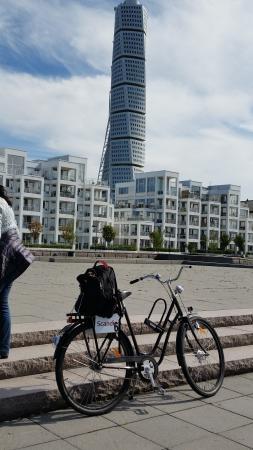 Scandic Malmo City : biking in Malmo....