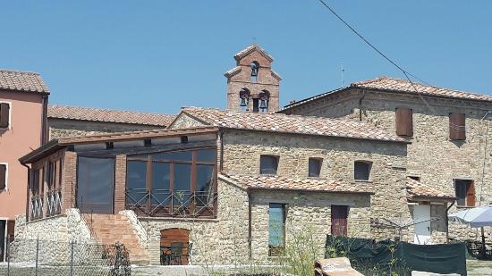 Ulignano, อิตาลี: Prachtig gelegen