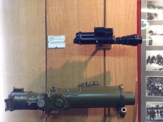 Museum of Frontier Troops : Приборы ночного виденья