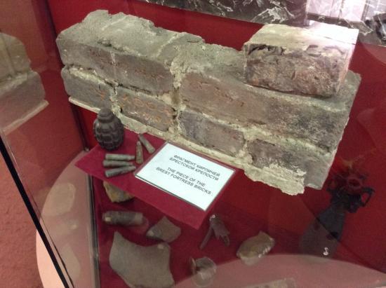 Museum of Frontier Troops : Часть стены Брестской крепости