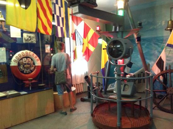 Museum of Frontier Troops : Корабельный отсек