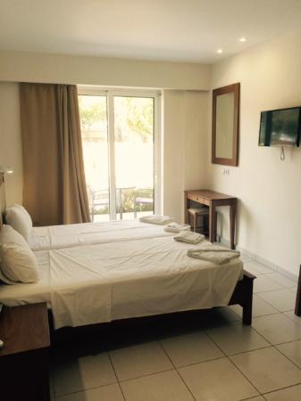 James Hotel: værelset