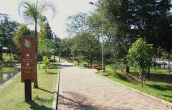 Parque Areião: Pista de caminhada interna