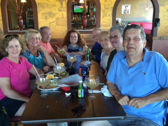 San Marco's : Friends meeting for dinner from Missouri, Illinois and Michigan.