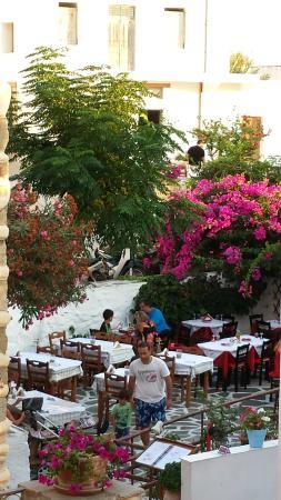 Naxos Town, Greece: s' agapo...restaurant