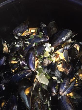 La Côte d'Argent : moules frites
