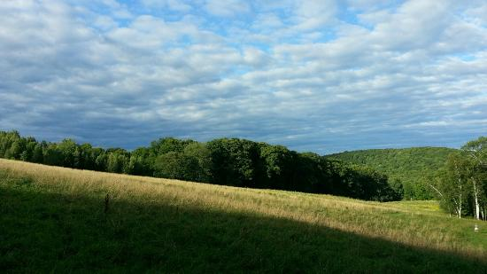 Barnard, Βερμόντ: Rolling fields of Feast and Field are part of the Vermont Land Trust