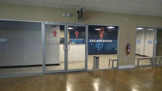 Our Logo Picture Of Red Door Escape Room Southlake