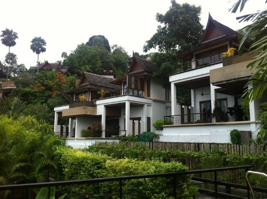 Ayara Hilltops Resort and Spa Surin Beach: View of the different villas