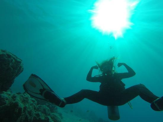 Pacific blue adventure : Trop forte !