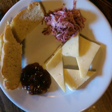 The Old Inn- Mullion: This is the Ploughmans Lunch main course. Enough said.