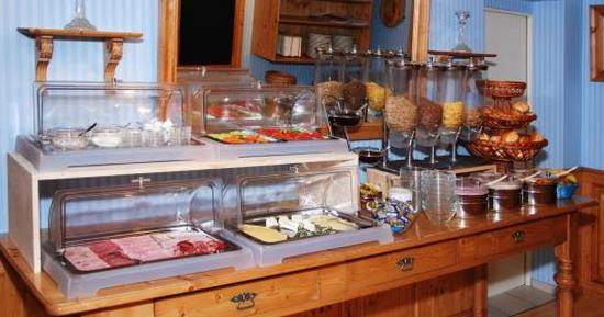 Hotel-Cafe Demling: desayuno