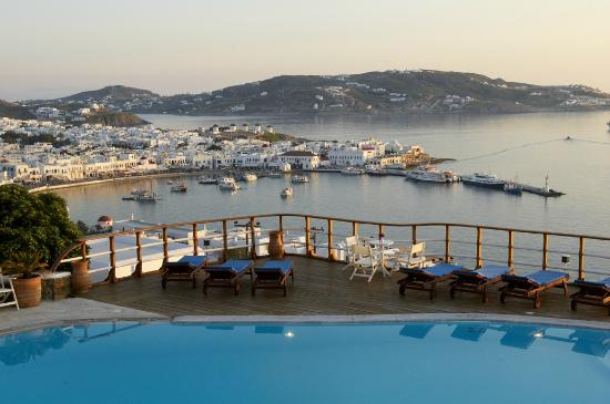 Mykonos View Hotel: POOL
