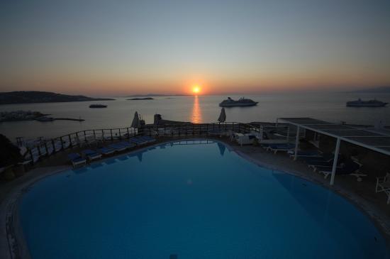 Mykonos View Hotel: POOL