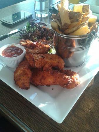 Chicken Goujon Meal Picture Of Templars Inn Restaurant Wexford