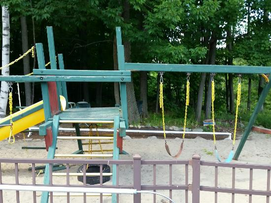 Tall Pines Motel: Playground already saw its better days..