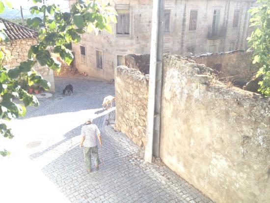 Casa do Forno: Vista da rua exterior