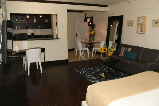 Lincoln Arms Suites: Livingroom