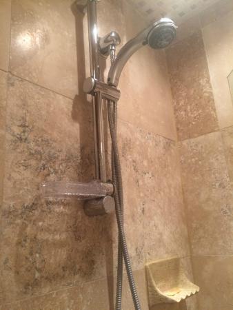 أنتيجوا إن: GROHE shower in the Tapestry Room