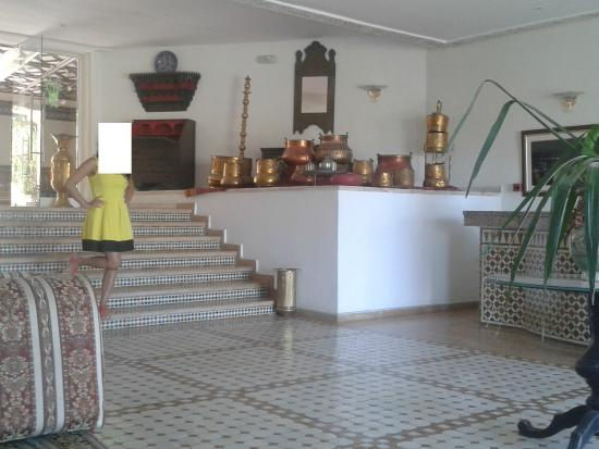 Hotel Moulay Yacoub: Reception