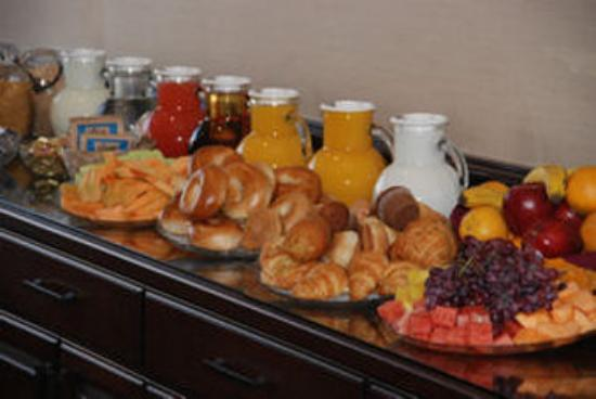 The Grand Hotel: Complimentary Breakfast