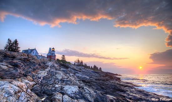 Pemaquid Point Lighthouse: Sunrise at Pemaquid Point
