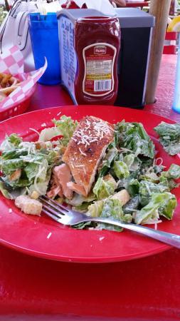 Creek Ratz: Salmon I Caesar lunch special