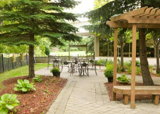 Quality Suites: Out Door Patio
