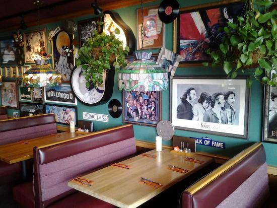 Blick auf das restaurant bild von chicago 39 s american for American cuisine chicago