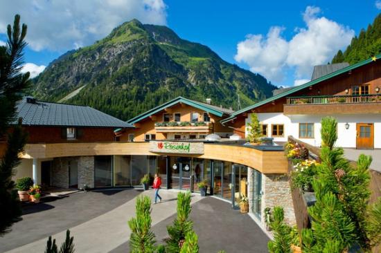 Der Kleinwalsertaler Rosenhof: Hotelansicht