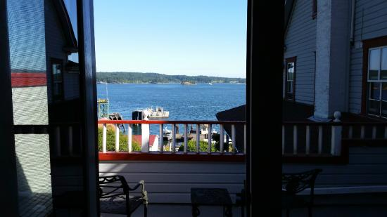 Orcas, WA: View from the room