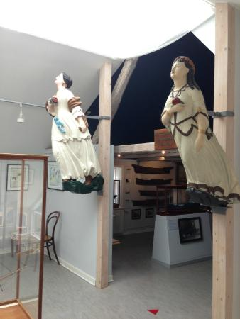 Marstal Sofartsmuseum : Mascarones