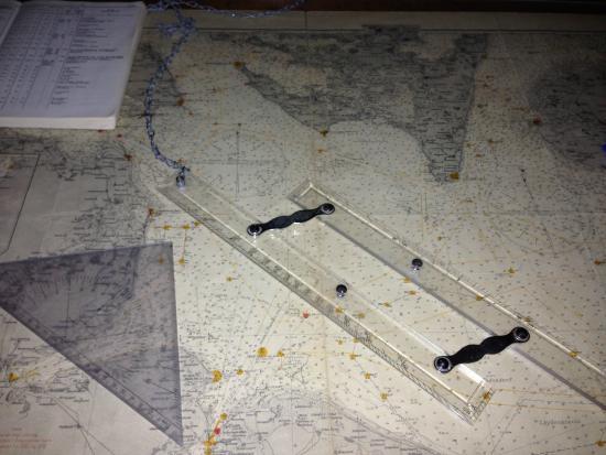 Marstal Sofartsmuseum : Carta náutica