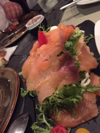 Olla Mykonos : Antipasti, paella e dessert