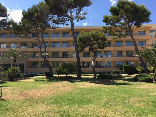 Grupotel Natura Playa : Haus 1 vom Hotelgarten aus