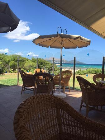 Grupotel Natura Playa : Die Bar am Strand