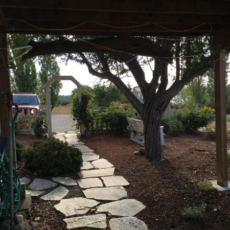 Spinnaker Tea Garden B&B : Quaint B & B with a beautiful view and awesome gluten-free breakfast!