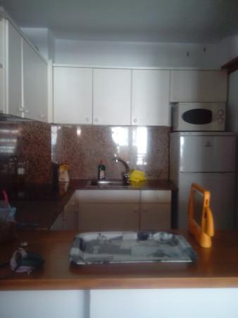 Apartamentos Novelty: la cocina