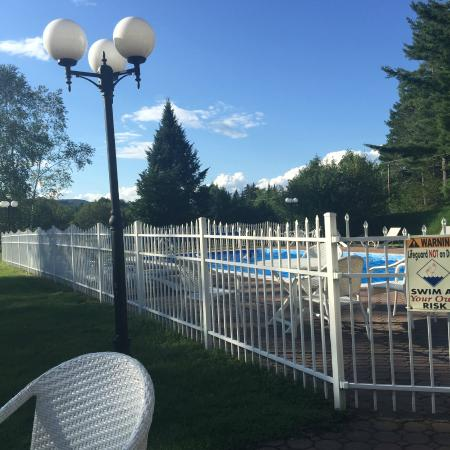 Franconia Inn: Pool area