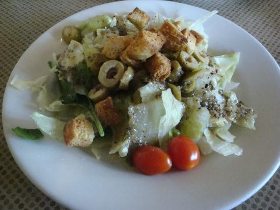 Siciliano's--A Taste of Italy: Olive fresh garden salad