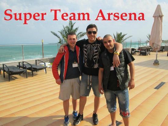 MPM Hotel Arsena: Personál
