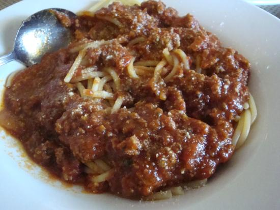 Siciliano's--A Taste of Italy: Spagetti and meat auce