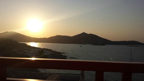 Katerina Mare: View of our balcony!!
