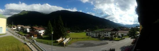 Gasthof Spullersee Wald am Arlberg: Panoramic view from the room we stayed in