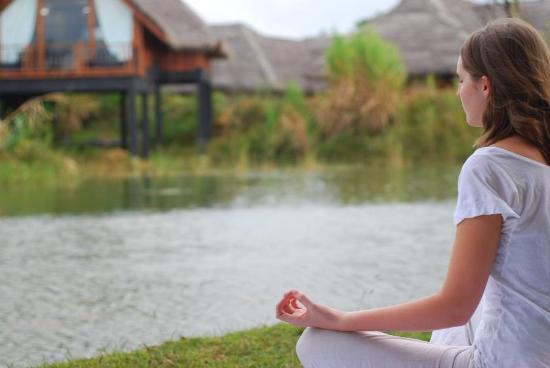 Jetwing Vil Uyana: Relaxing Meditation