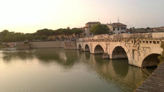 The Tiberius Bridge