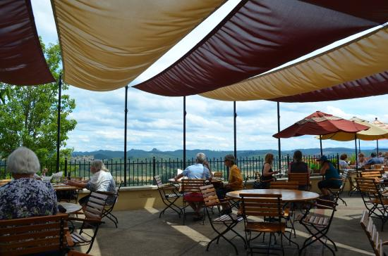 Eugene, OR: Lunch on the patio