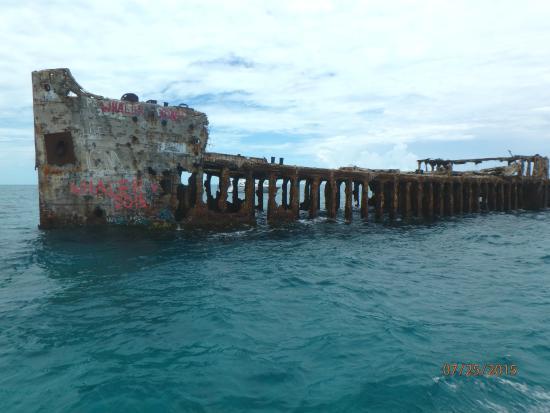Bimini: The wreck