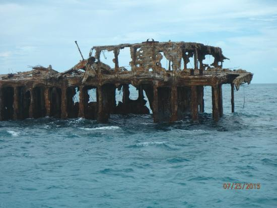 Bimini: The wreck