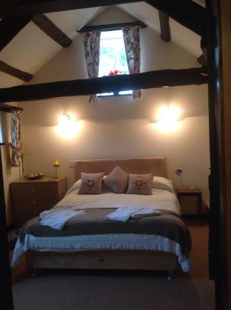 Laskill Grange: Foxglove Cottage bedroom